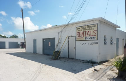 Bay Pines Storage Units & Workshops for Rent